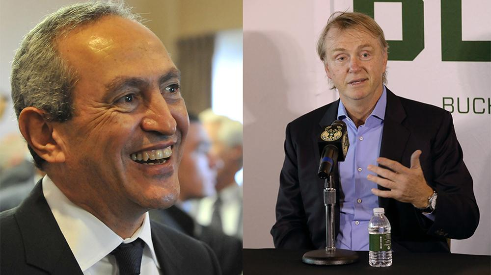 Nassef Sawiris (left) and Wes Edens have previous investments in the sports industry / Aston Villa FC