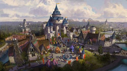 A mythical castle is planned as part of the development / LHRC Holdings