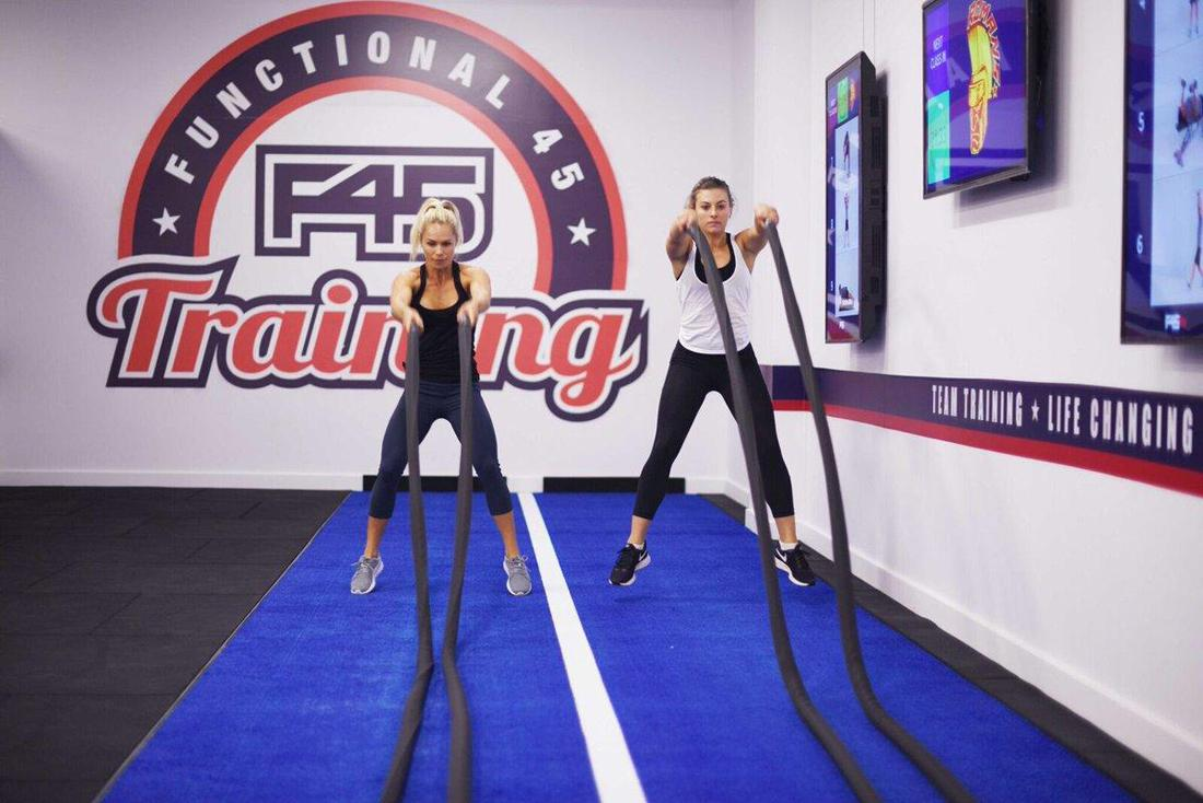 F45 has set a target of a further 120 studios being sold in Europe by the end of 2018, with a further 185 in 2019 and another 350 in 2020