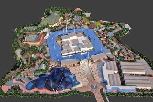 A year-long public consultation begins this month before the planning application for the London Paramount Entertainment Resort is submitted / Plans include an indoor waterpark, theatres, music venues, attractions, restaurants, and hotel developments