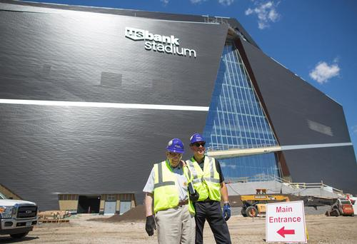 New Minnesota Vikings Stadium To Display 500 Works Of Art