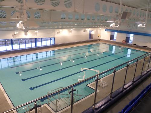 Barr + Wray completed the pools at the refurbished leisure centre