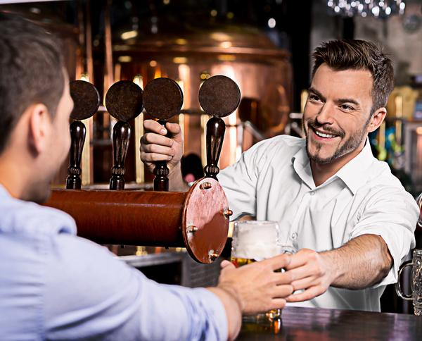 An initial chat at the bar could spur people to seek more information / PHOTO: SHUTTERSTOCK.COM