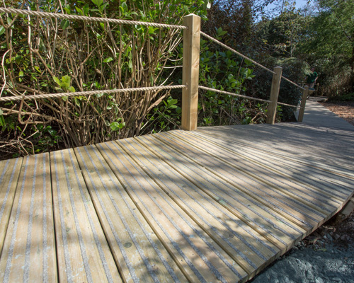 No stumble in the jungle with Gripsure boardwalk