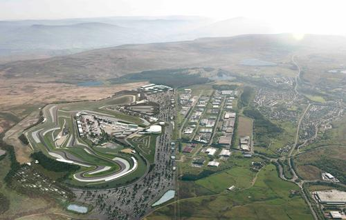 The £315m project will take over 830 acres of Blaenau Gwent / Circuit of Wales