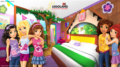 Lego Friends are being popularised at Legoland Windsor / Merlin Entertainments
