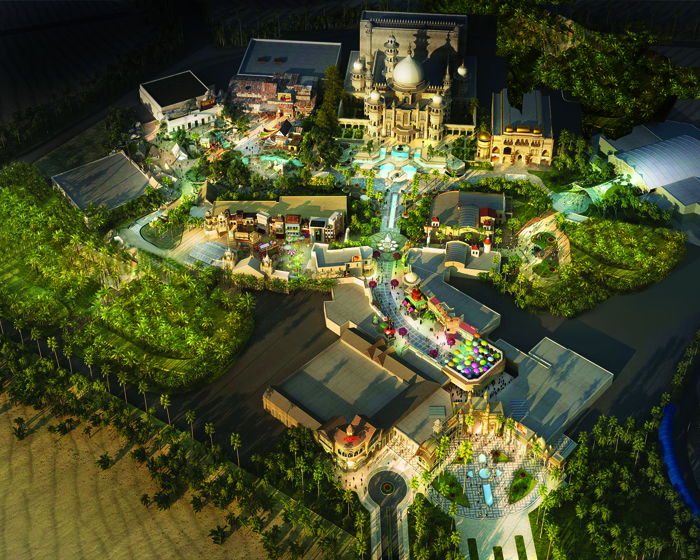 Triotech creates 'Sholay' dark ride for Bollywood Parks Dubai