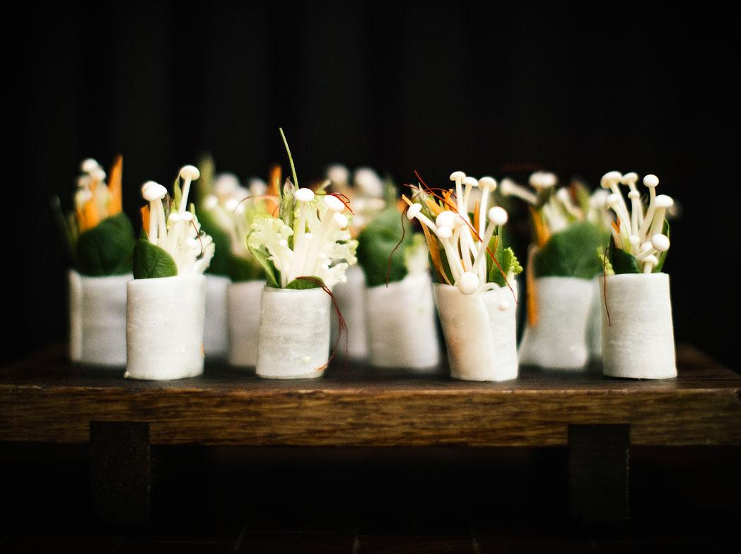 There is a vegan and raw food restaurant and a teppanyaki restaurant, as well as cocktail and sake bars