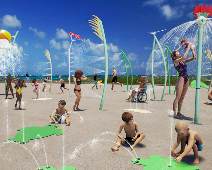 Shoreline is an interactive aquatic play experience