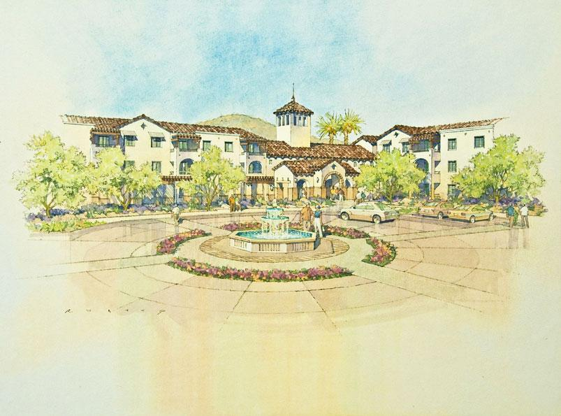 The campus, based on the edge of a sprawling, sun-drenched desert, is located nearby numerous biking and hiking trails