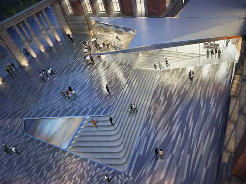 Amanda Levete Architects will lead the Exhibition Road Project