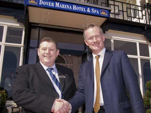 Tourism minister John Penrose helped to open the new-look hotel