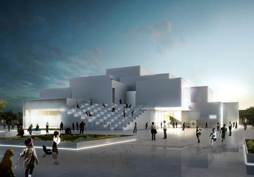 The Lego House is to be built in the company's hometown of Billund in Denmark / Bjarke Ingels Group