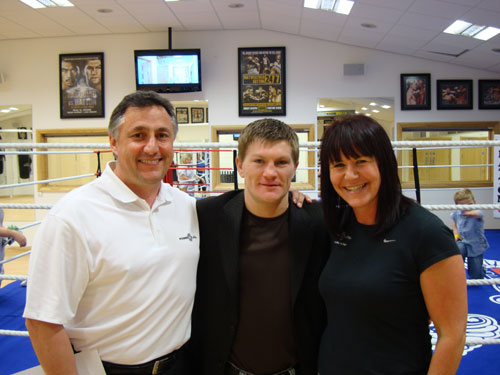 Ricky Hatton unveils new Manchester gym