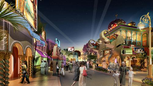 Major film studios working with Dubai's Bollywood theme park