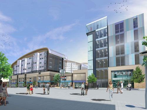 Gateshead's Trinity Square development