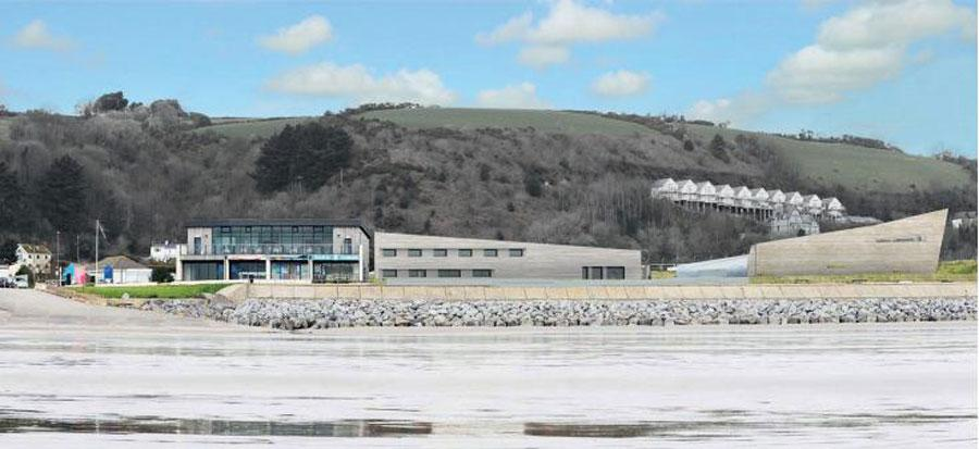 The Pendine Sands beach is famous for being the site where Sir Malcolm Campbell broke the land speed record for the first time in 1924.
