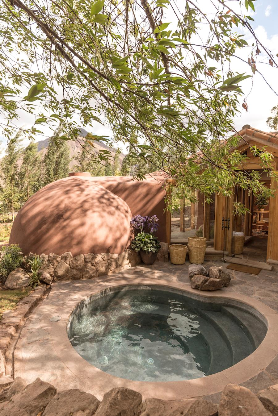 Treatments are based on 100 per cent natural products derived from medicinal herbs, and the wellness centre includes a plunge pool, four private therapy rooms and a dry sauna