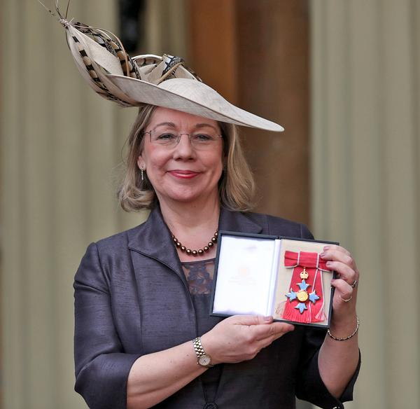 Price was awarded a CBE for services to sport in 2017