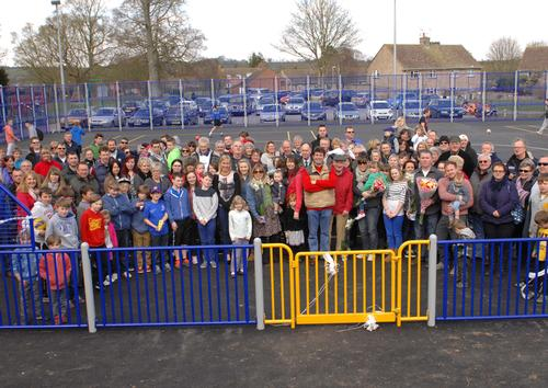 £130,000 mixed-use games area opens in Langport