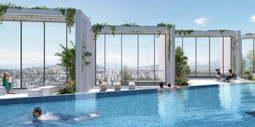 The IQON will have a rooftop pool and relaxation areas / Courtesy of BIG