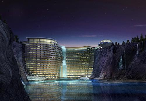 The hotel is the direct result of a deal which was inked between Shimao Group and InterContinental Hotels in 2008. / Courtesy of JADE+QA
