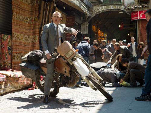 <I>Skyfall</I>, the latest James Bond movie / Sony Pictures