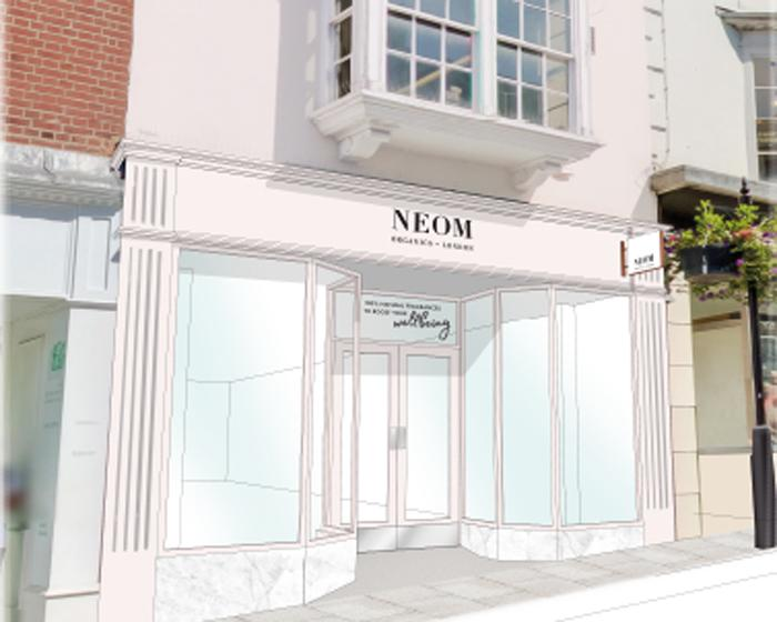 The Neom store will offer shoppers a unique wellbeing experience