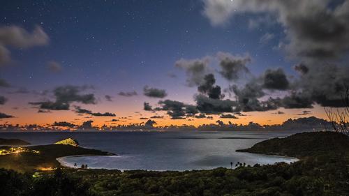 Piet Boon said the Antiguan landscape