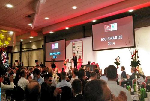 The IOG awards ceremony was held at stadiumMK last night / IOG