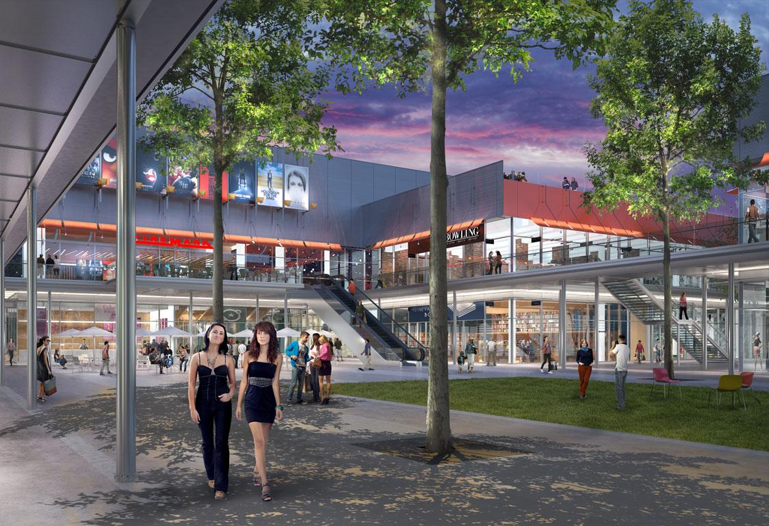Renzo Piano likened the mall to a