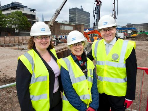 Foundations laid for Elephant and Castle leisure centre