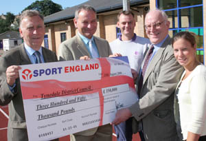 £350,000 boost for Northumberland swimming pool project