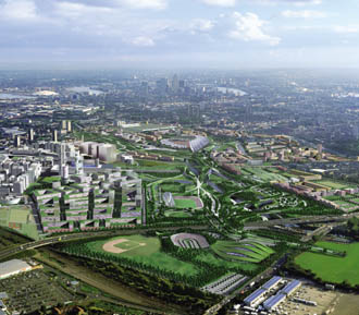 Olympic Park master plan submitted