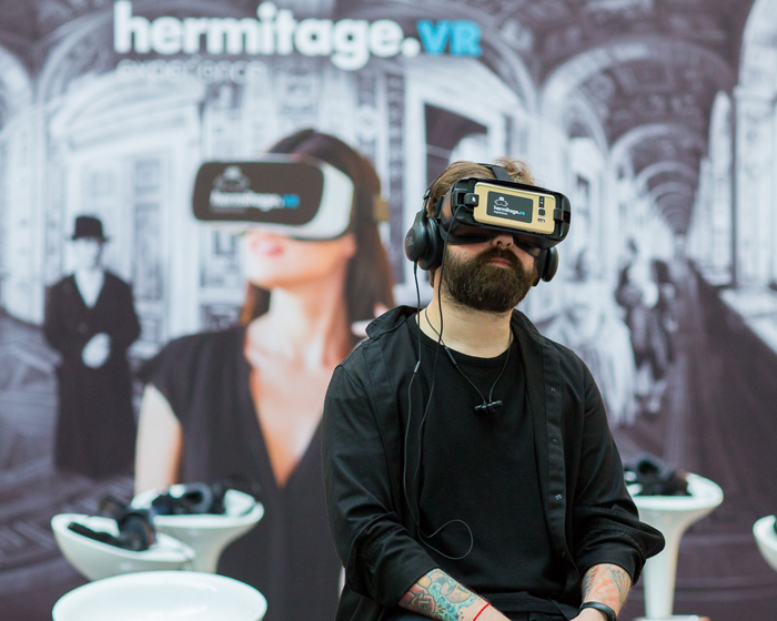 Visitors feel history in new VR experience at Russia's Hermitage Museum