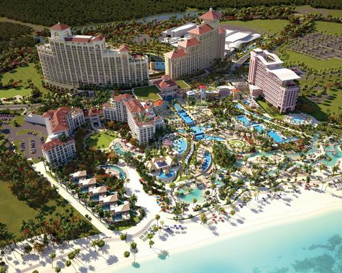 The opening of the Baha Mar resort has been delayed multiple times / Baha Mar