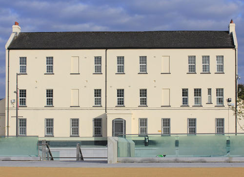 The Erbrington listed building that will house the proposed museum and archive centre