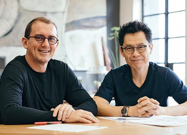 WOHA founders Richard Hassell and Wong Mun Summ / Image: Studio Periphery