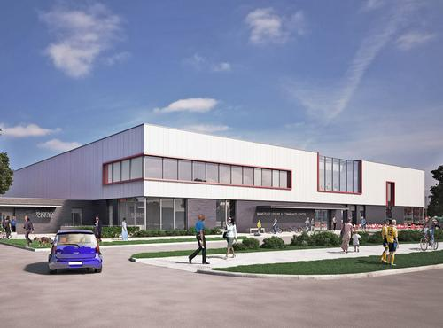 The £10m centre is a joint venture between Reigate & Banstead Borough Council and the Surrey County Council / S&P Architects