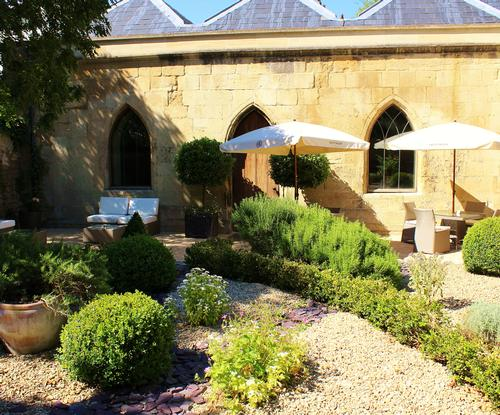 The Tattinger Spa Garden aims to engage the five senses / The Royal Crescent Hotel & Spa