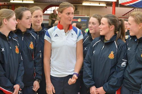 Royal Artillery captain Heather Stanning was the first Team GB athlete to win gold at London 2012 / UK Sport