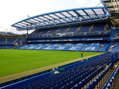 Stamford Bridge has been home to Chelsea Football Club for 109 years / Shutterstock / Teerinvata