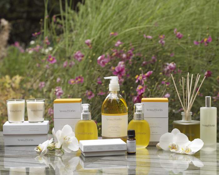 Marriott impressed by AromaWorks collection