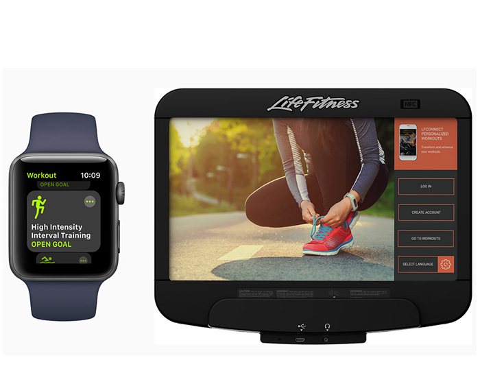 Life Fitness to connect with Apple Watch