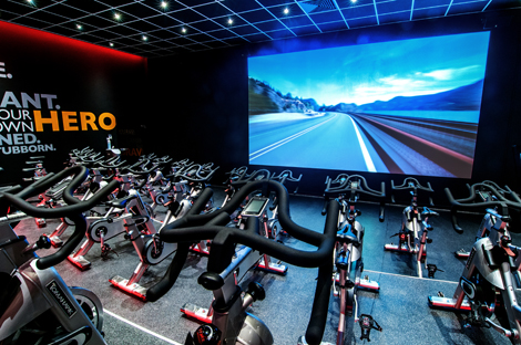 MyRide virtual cycling classes may also include an instructor to create a combined experience
