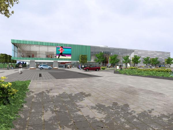 Phase one of the redevelopment project started in spring 2014