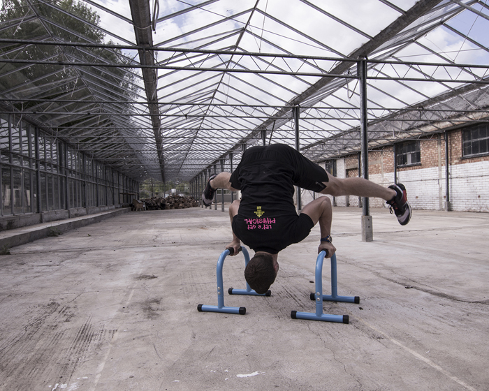 Physical Company collaborates with Wild Training for parallettes launch