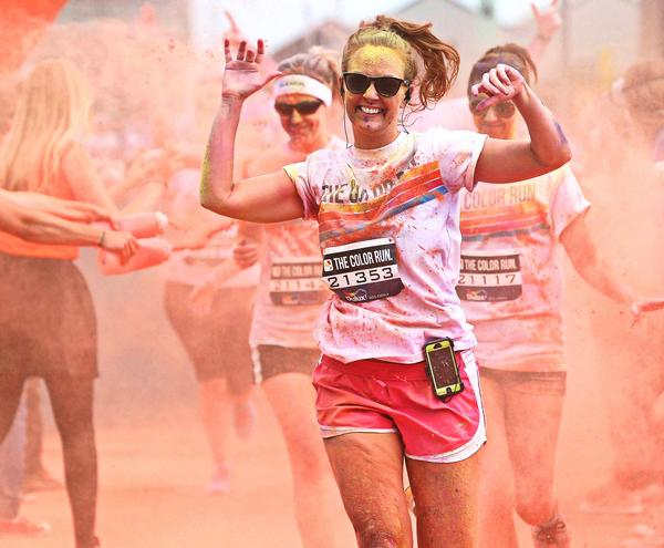 Experiences such as the Color Run, which can be talked about on social media, are what engages Millennials