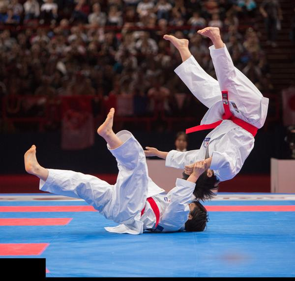 Karate will all be present at the Tokyo 2020 Olympic Games / nicole galvagni / demotix