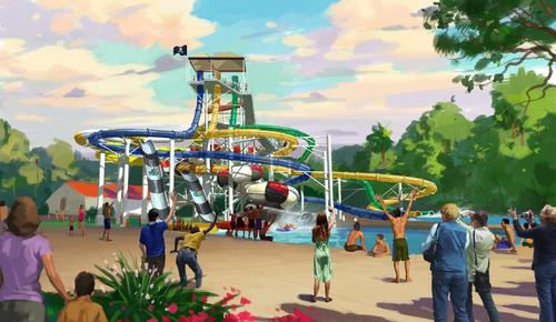 Carowinds steps up US$50m expansion with waterpark makeover